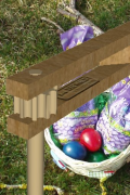 Wooden Easter Ratchet